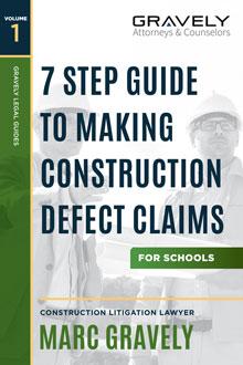 Construction Defect Claims