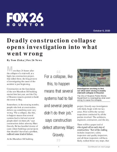 Deadly construction collapse opens investigation into what went wrong